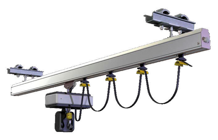 Monorail Hoist - Follow Upcoming Sales With Our Newsletter Awesome