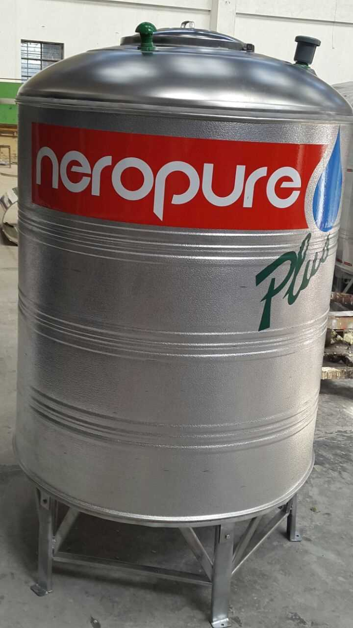 Neropure 1000 Liter Stainless Steel Insulated Water Tanks Indian Trade Bird