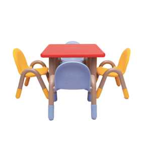 THE-RED-SQUARE-TABLE-WITH-FOUR-CHICO-CHAIRS