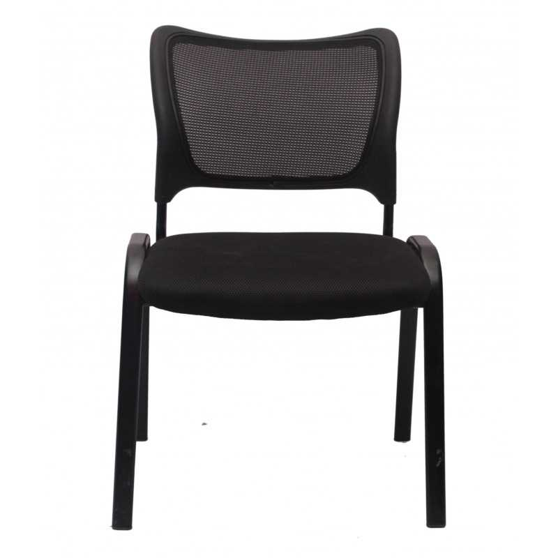 Stylish-Black-Visitor-Chair