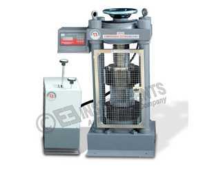 COMPRESSION TESTING MACHINE 500 KN CAPACITY
