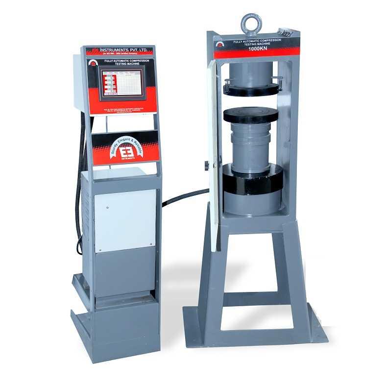 FULLY AUTOMATIC CONCRETE COMPRESSION TESTING MACHINE