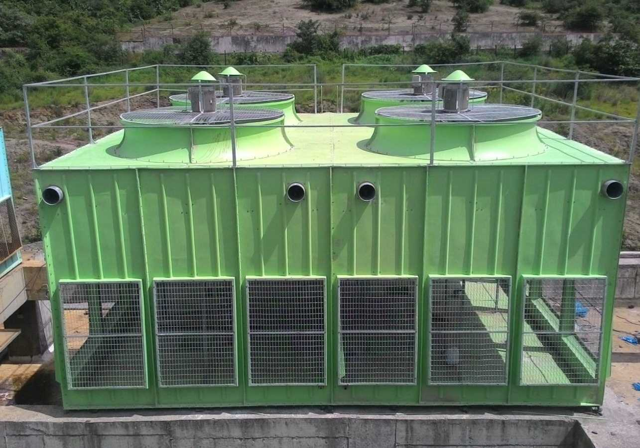 Induced-Draft-Cooling-Towers