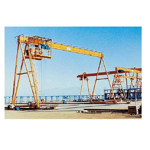 Portal-&-Semi-Portal-Cranes-with-electric-hoists