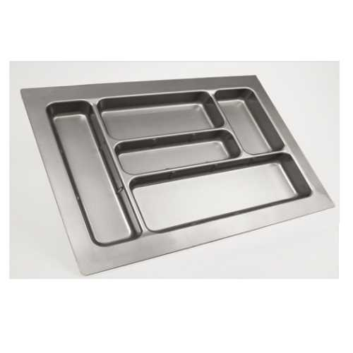 P.V.C.-Cutlery-Tray-Metallic