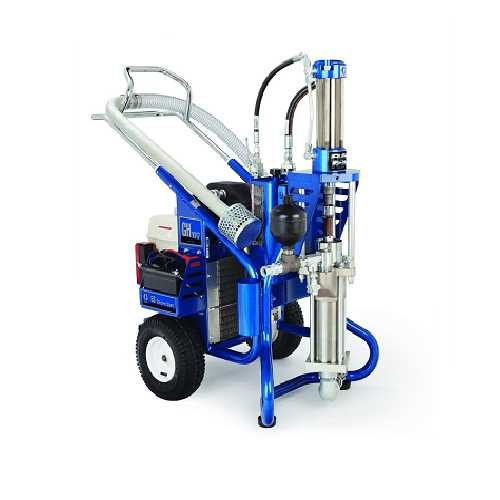 HYDRAULICALLY-DRIVEN-AIRLESS-SPRAY-PAINTING-EQUIPMENT