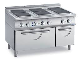 Commercial-Electric-Ranges