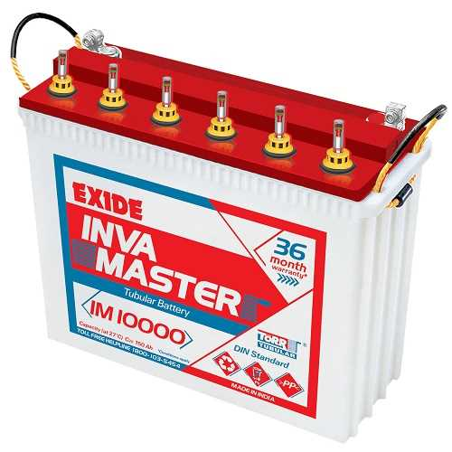 Exide-Inva-Master-Tubular-Battery-150Ah-12V-(White-&-Red)