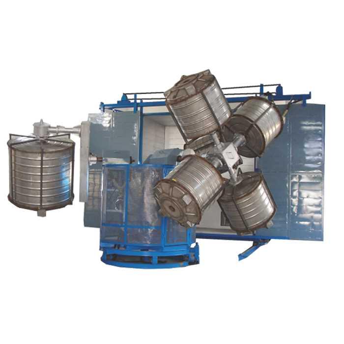 A-One-Bi-Axial-Rotomoulding-Machine