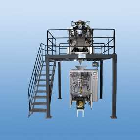 Pouch-Packaging-Pneumatic-Collar-Type-Machine-With-Multi-head-Load-Cell