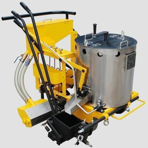 Thermoplastic-Road-Marking-Manual-Machine-With-Boiler