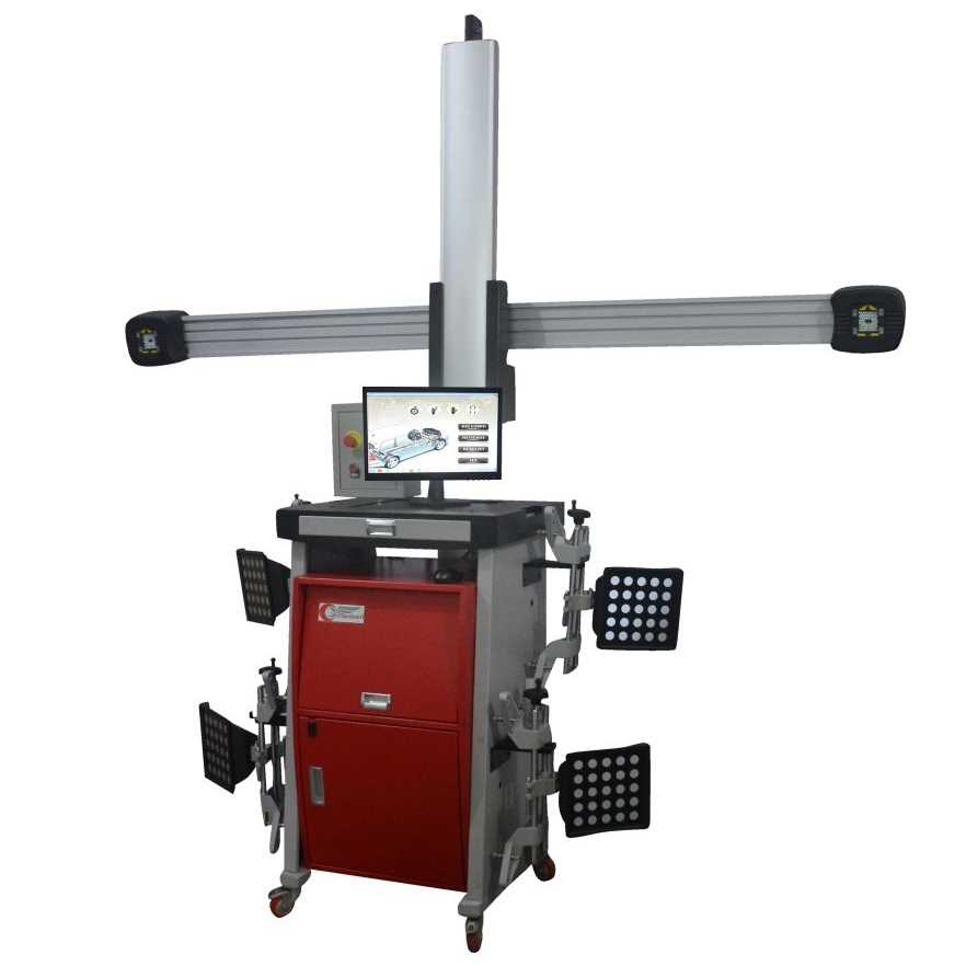 Auto-Tracking-3D-Wheel-Alignment-Machine-3DX4-A