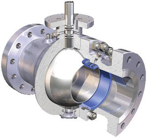 Trunnion-Mounted-Ball-Valves