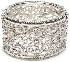 Silver-Diamond-Bangle
